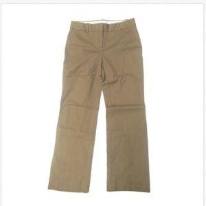 J.Crew Womens Straight Leg Casual Khaki Pants E53